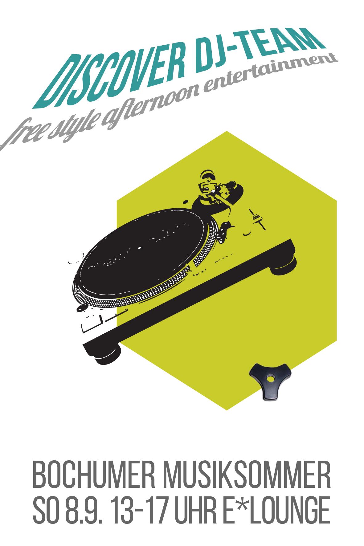 DISCOVER DJ Team beim Musiksommer